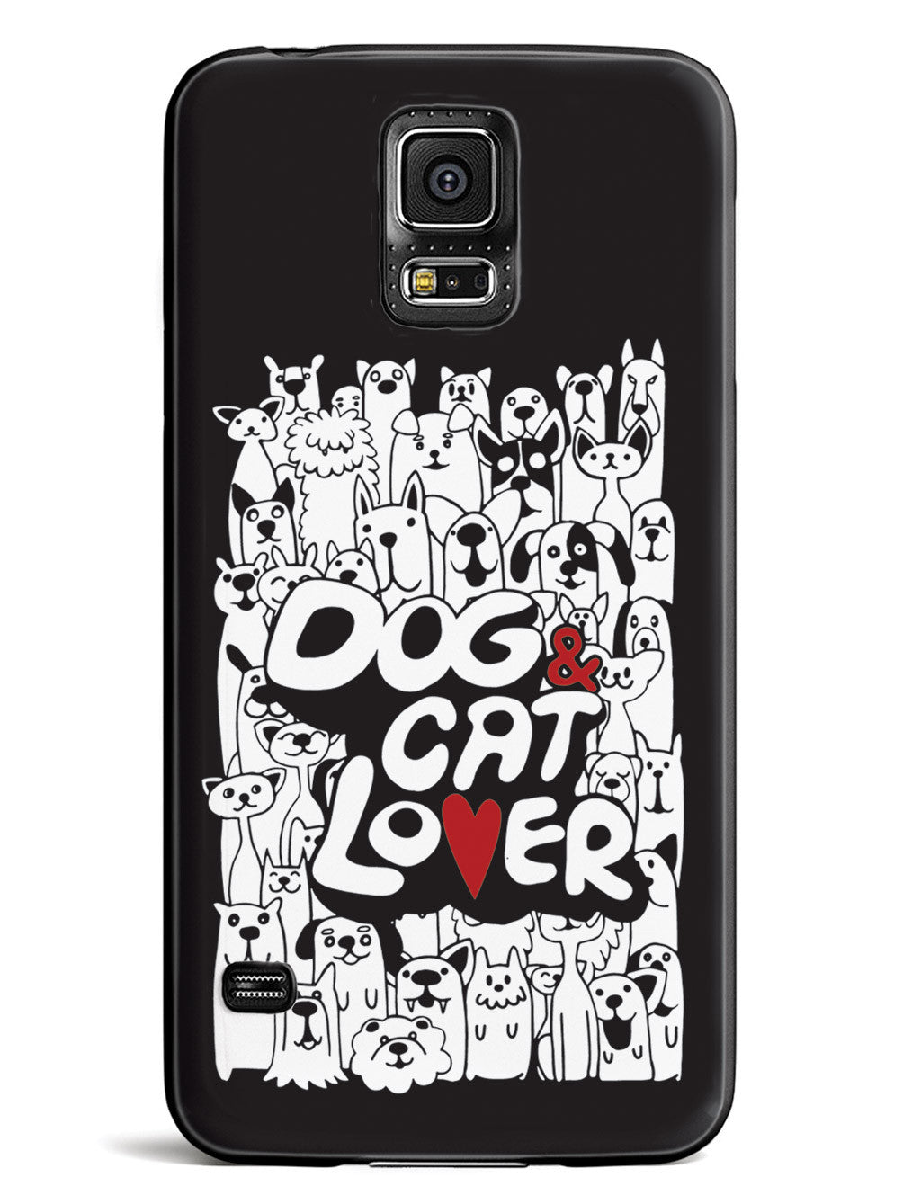Dog & Cat Lover - Black Case