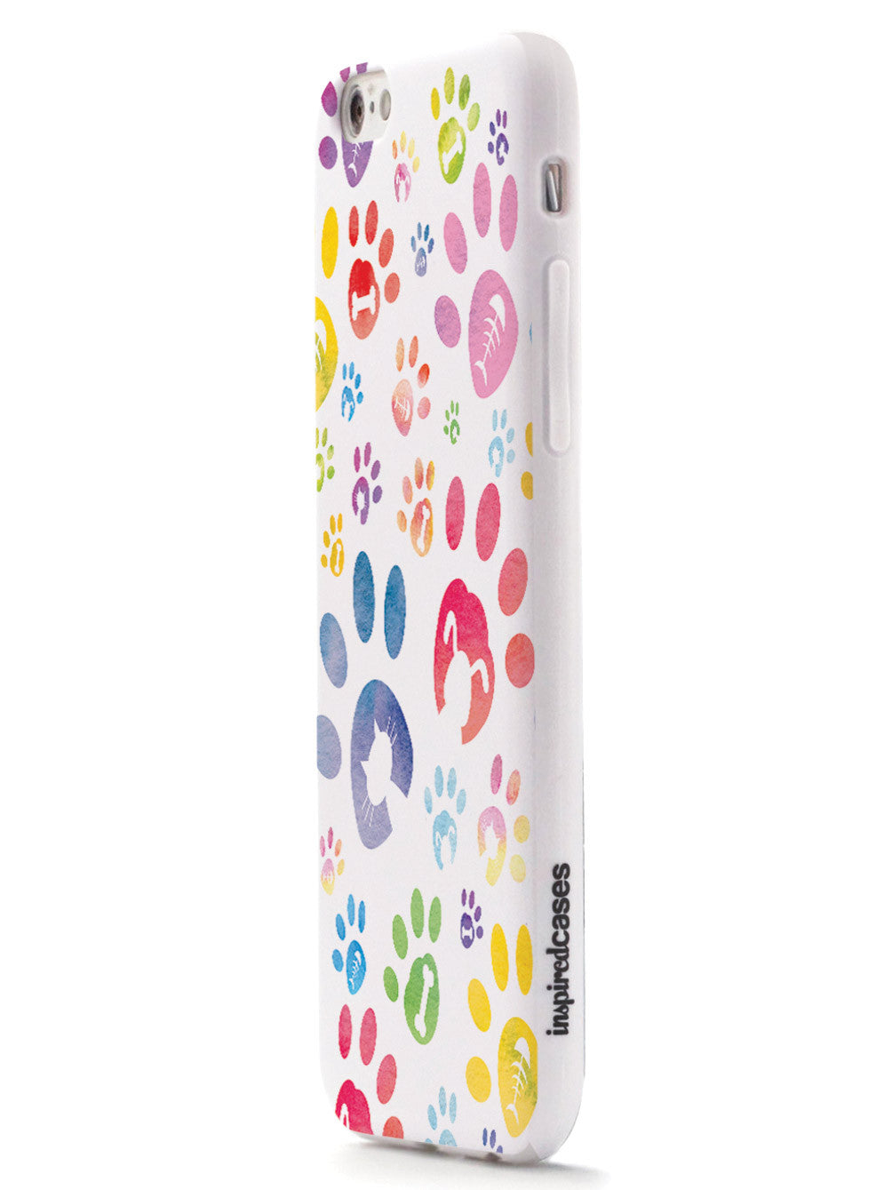 Dog & Cat Lover - Paw Prints - White Case