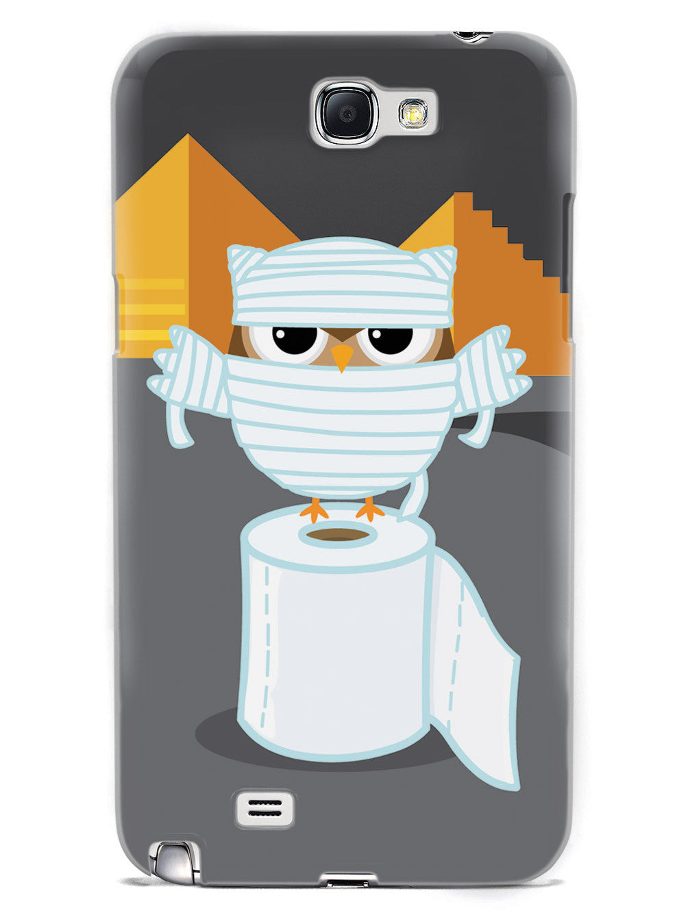 Mummy Owl - White Case