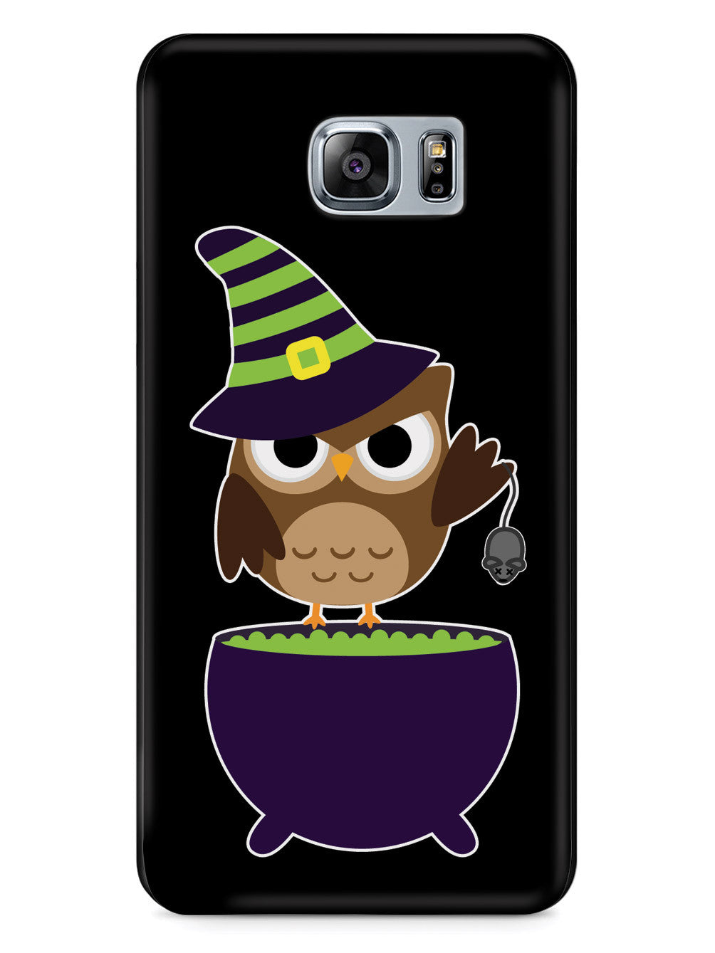 Witch Owl - Black Case