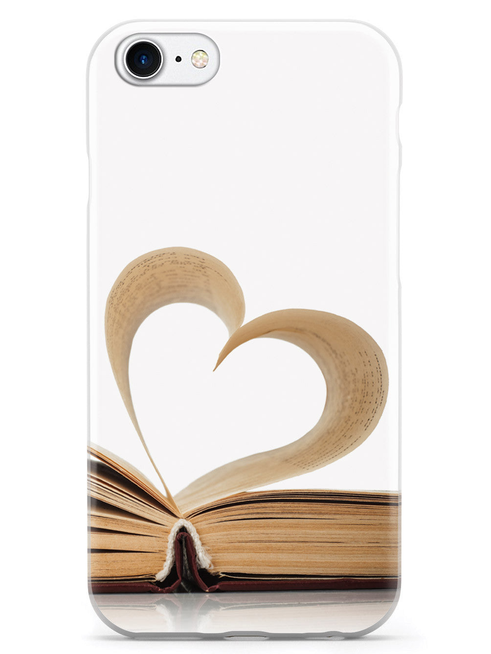 Heart Page - Book Lover Case