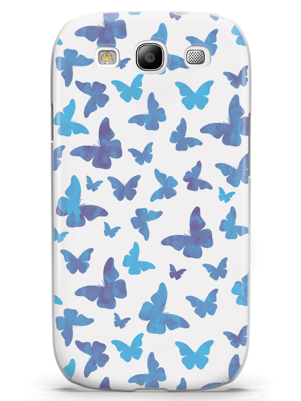 Blue Butterflies - White Case