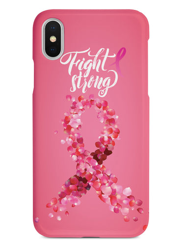 Fight Strong - Breast Cancer Awareness - White Case