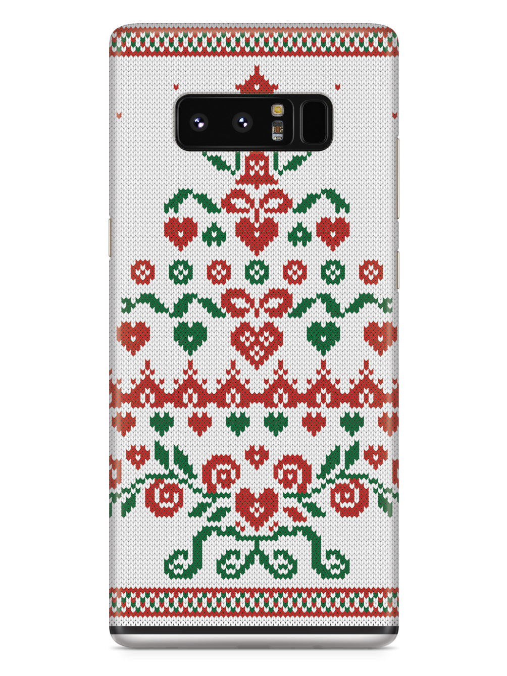 Christmas Tree Sweater Texture - Black Case
