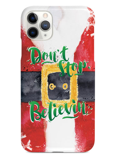 Don't Stop Believin' - Santa - Black Case