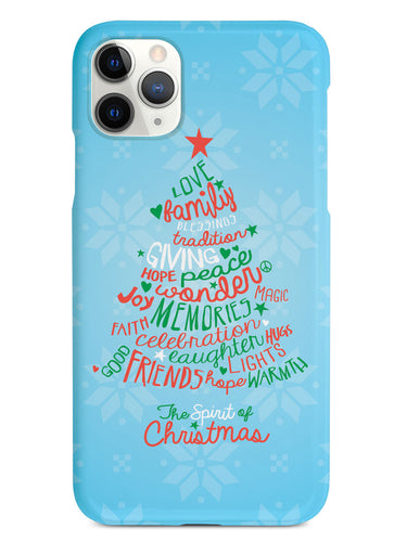 Christmas Spirit Words - White Case