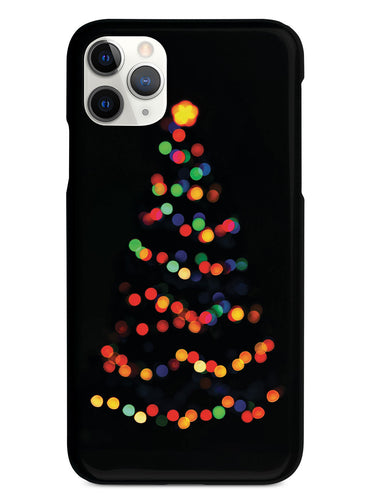 Christmas Tree Bokeh Lights Case