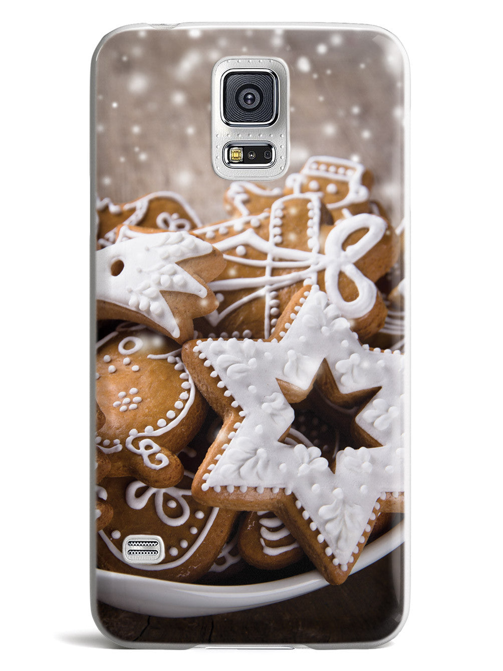 Frosted Christmas Cookies - White Case