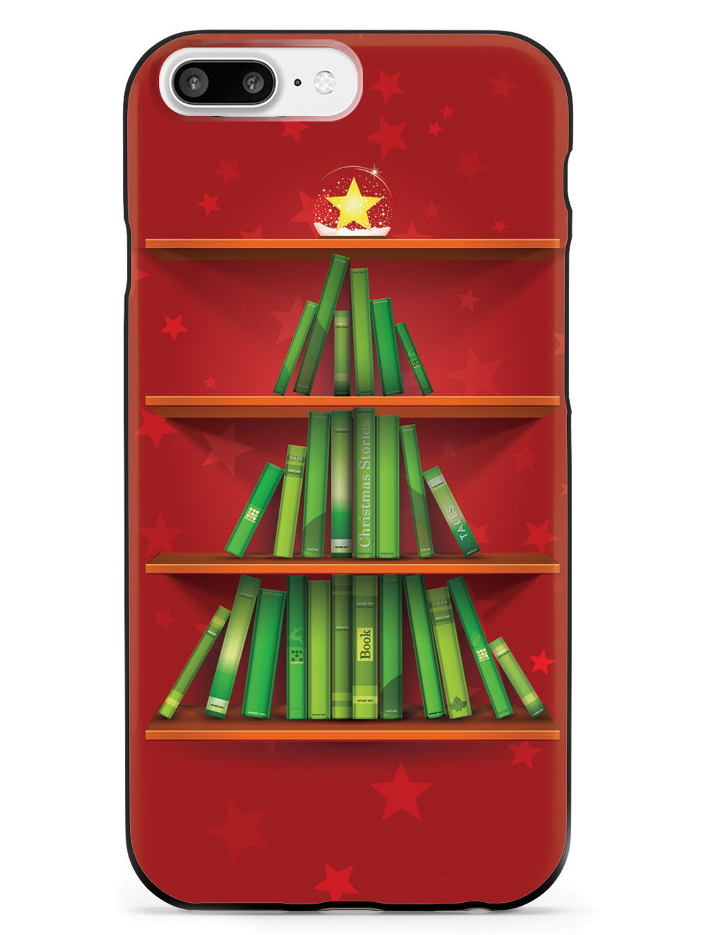 Christmas Story Bookshelf - Black Case