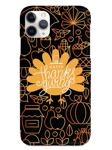 Thanksgiving Turkey - Black Case