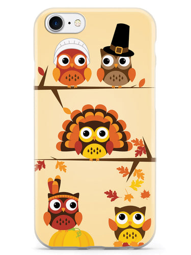 Thanksgiving Owls - White Case