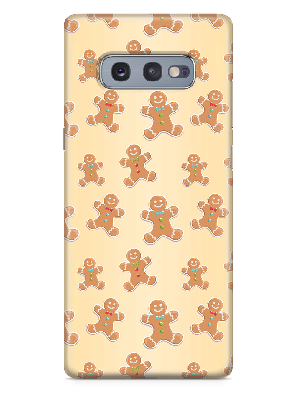 Gingerbread Man Pattern - White Case