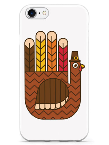Hand-Shaped Turkey - White Case