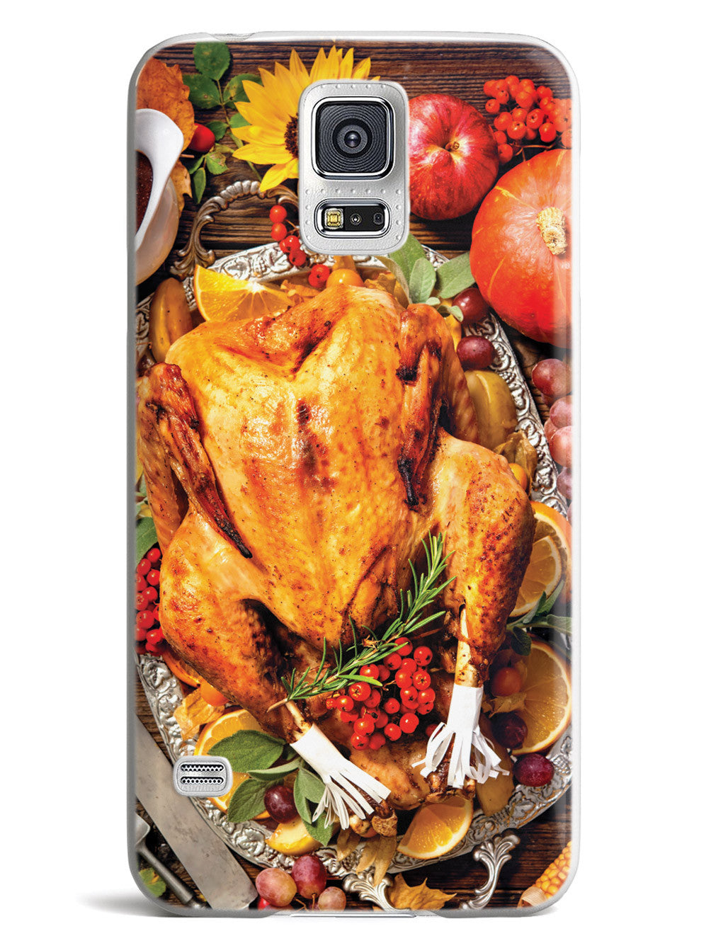 Thanksgiving Dinner - Texturized - White Case