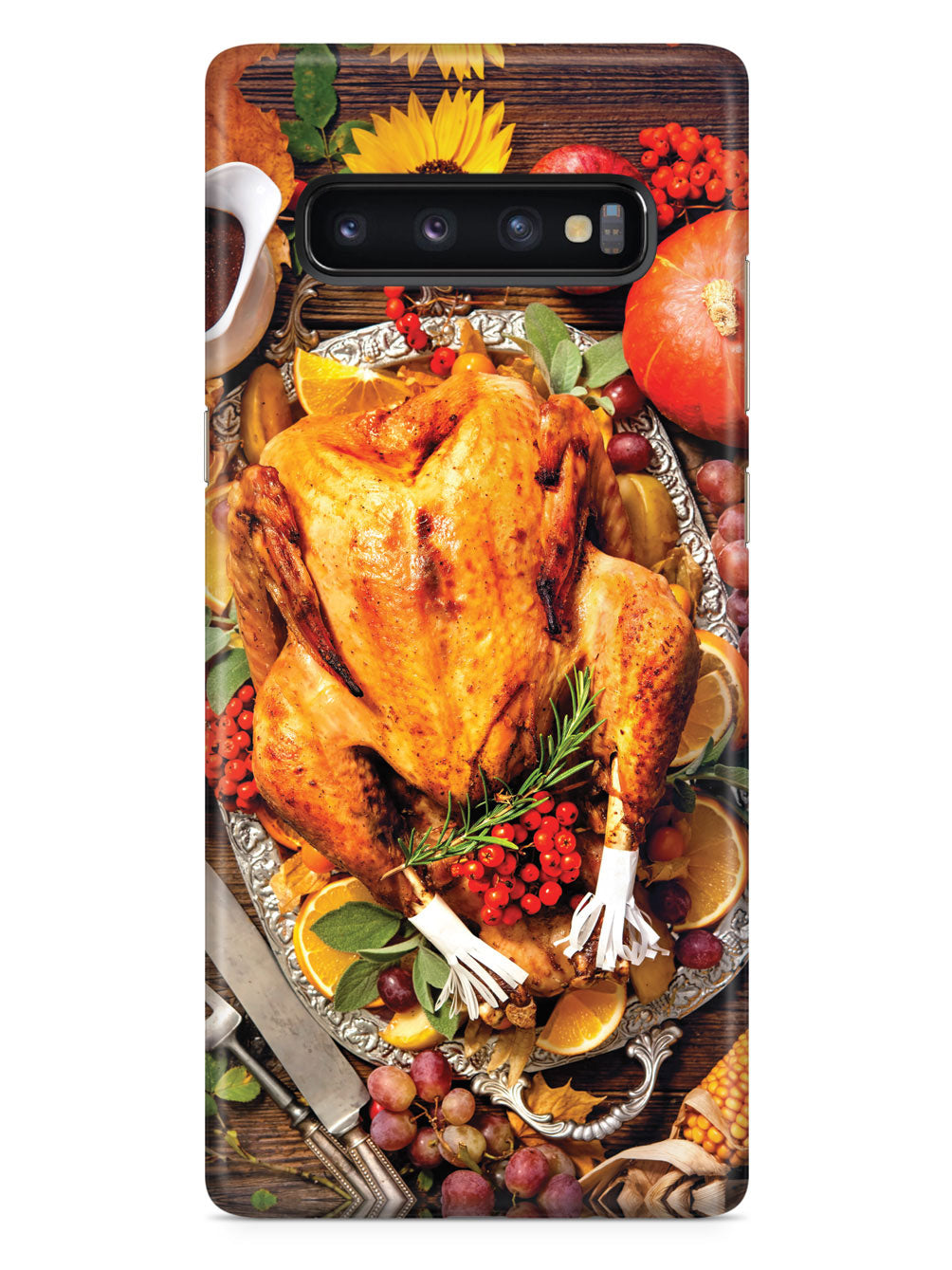 Thanksgiving Dinner - Texturized - Black Case
