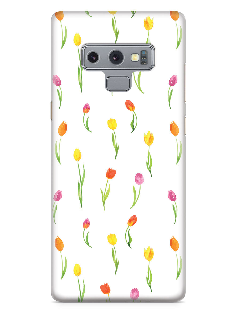 Tulips Pattern - White Case