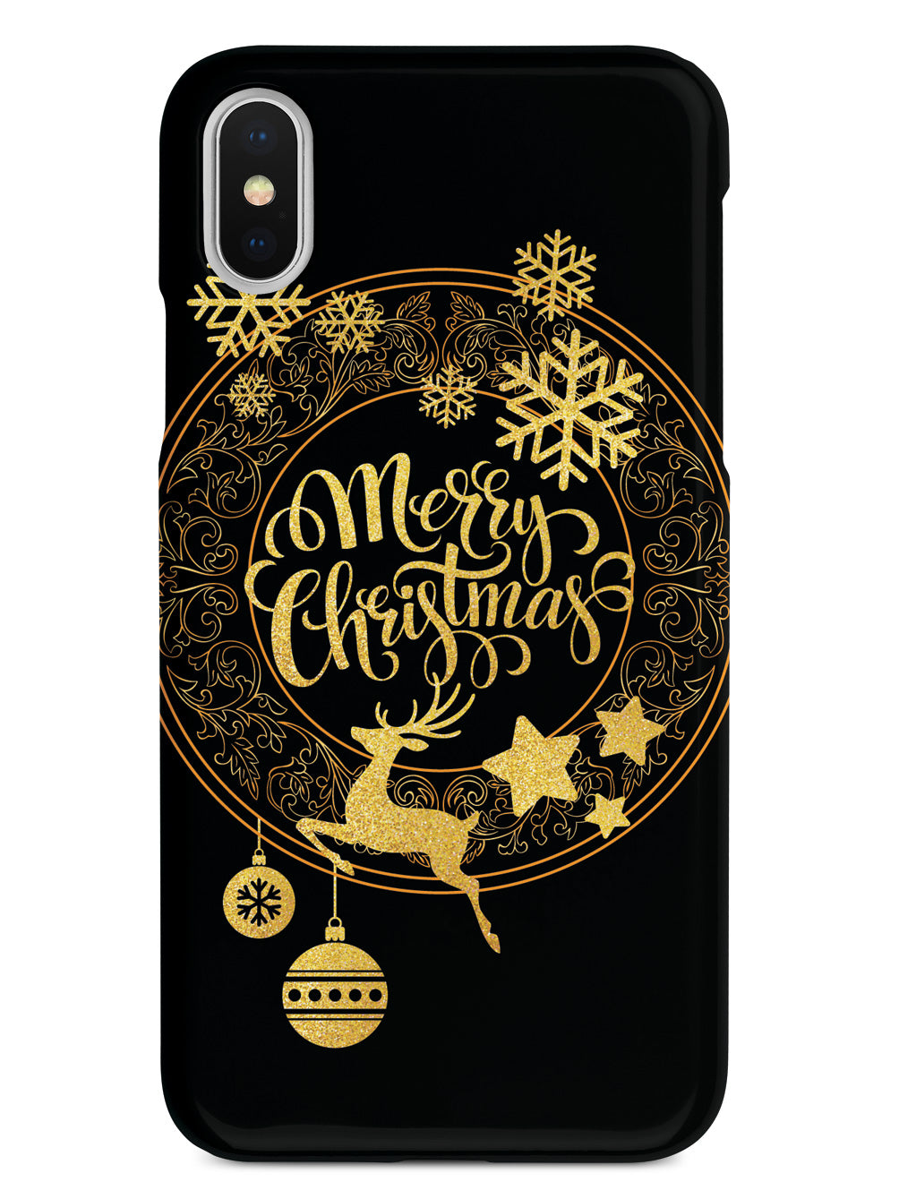 Gold - Merry Christmas Case