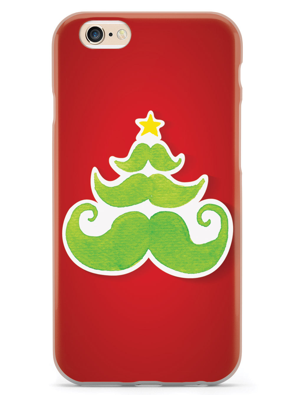 Merry Mustache - White Case