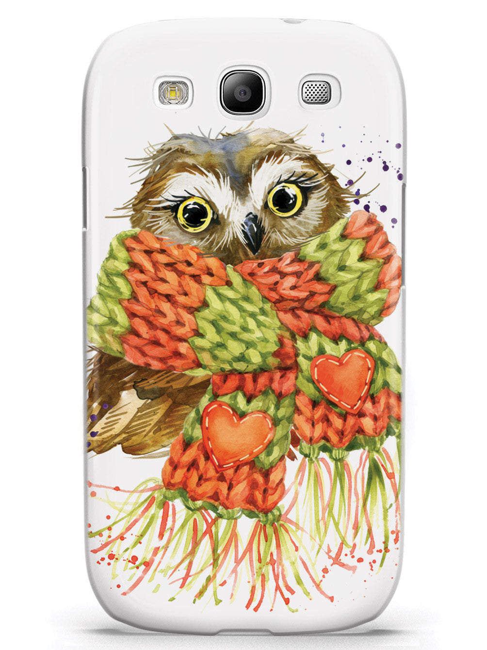 Autumn Owl with Scarf Case