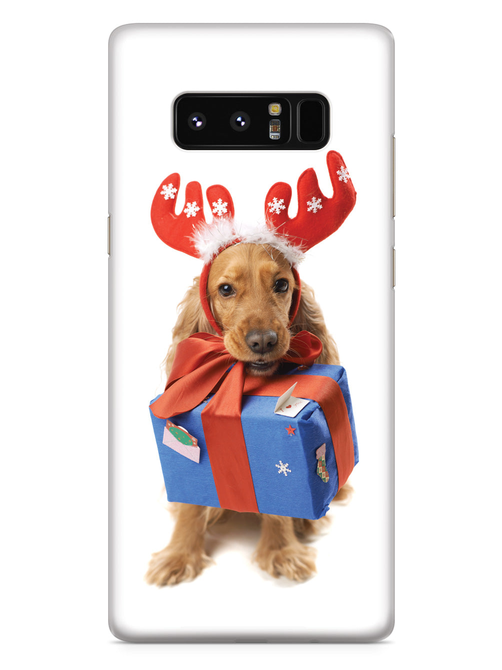 Cocker Spaniel Christmas Gift Case