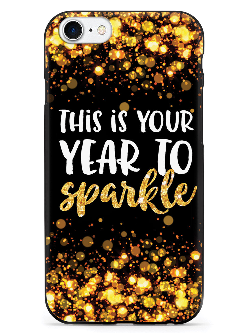 This is your Year to Sparkle - Black and Gold Case