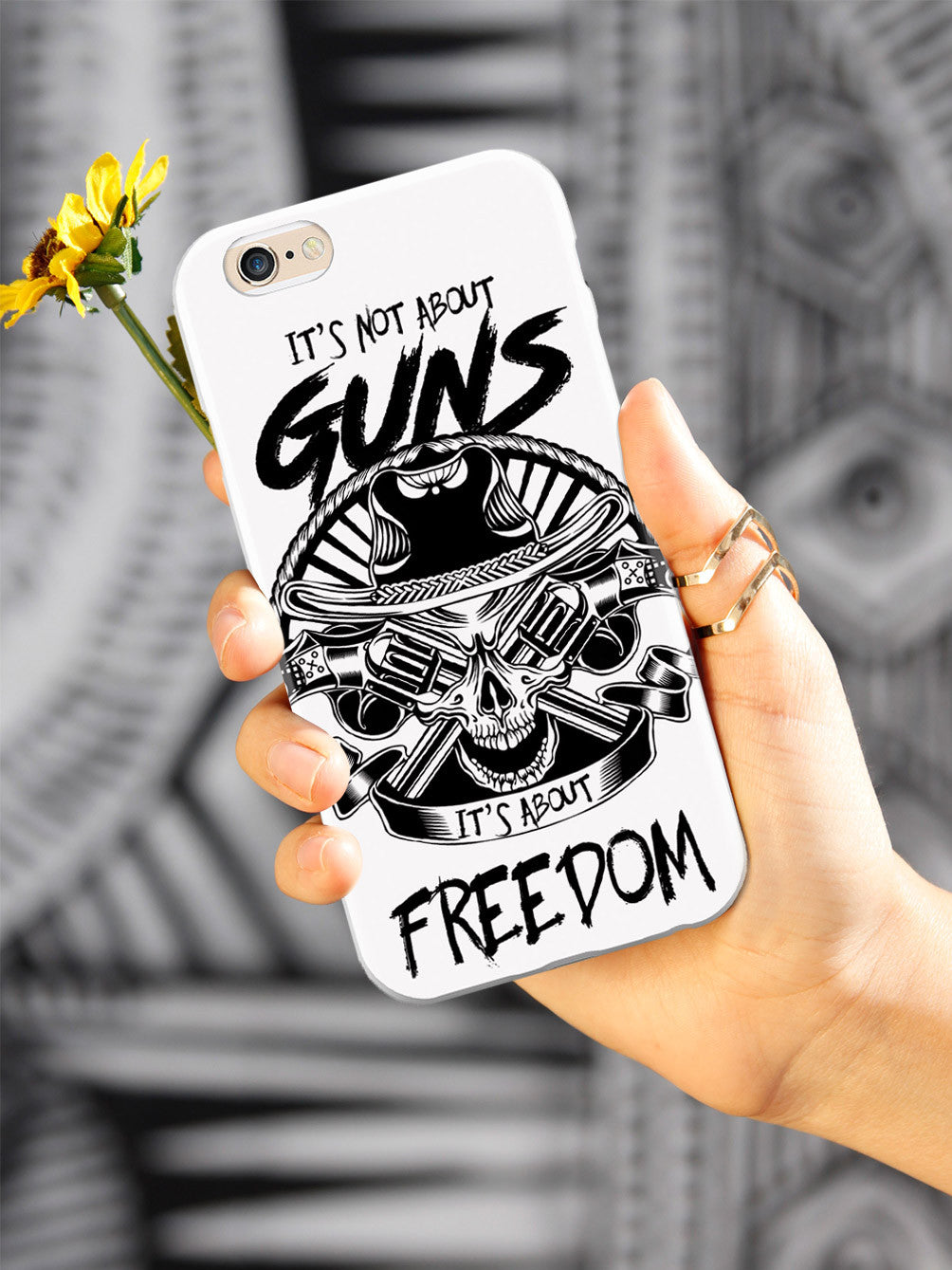 It's Not about Guns, It's About Freedom - White Case
