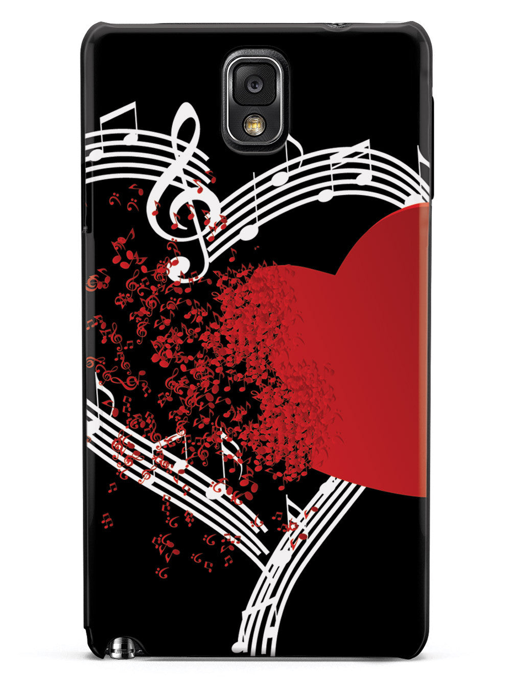 For the Love of Music - Black Case