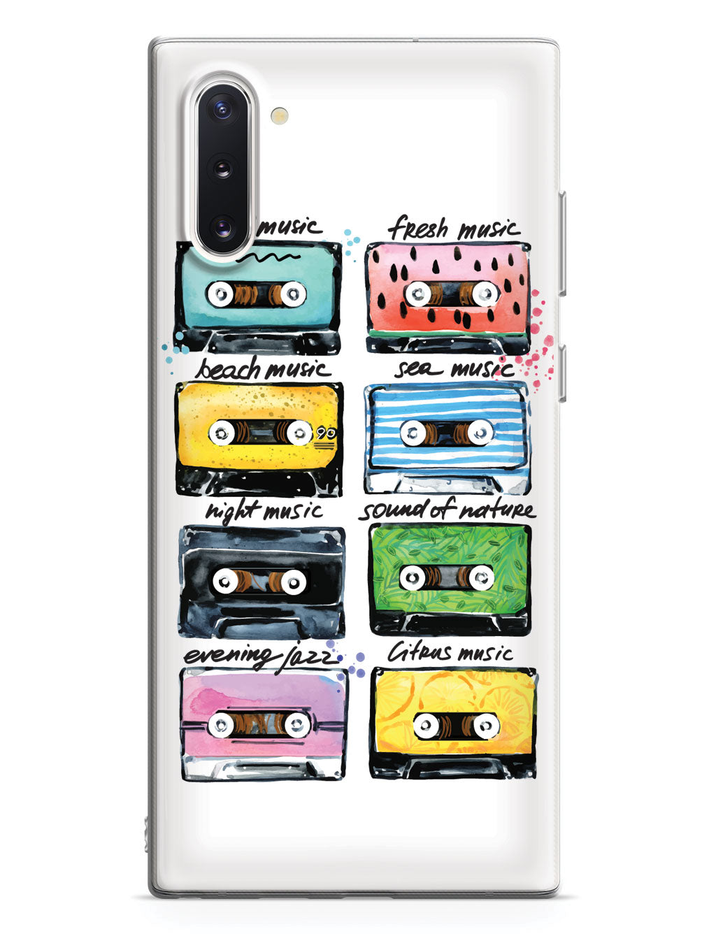 Cassette Tapes - Mood Music - White Case