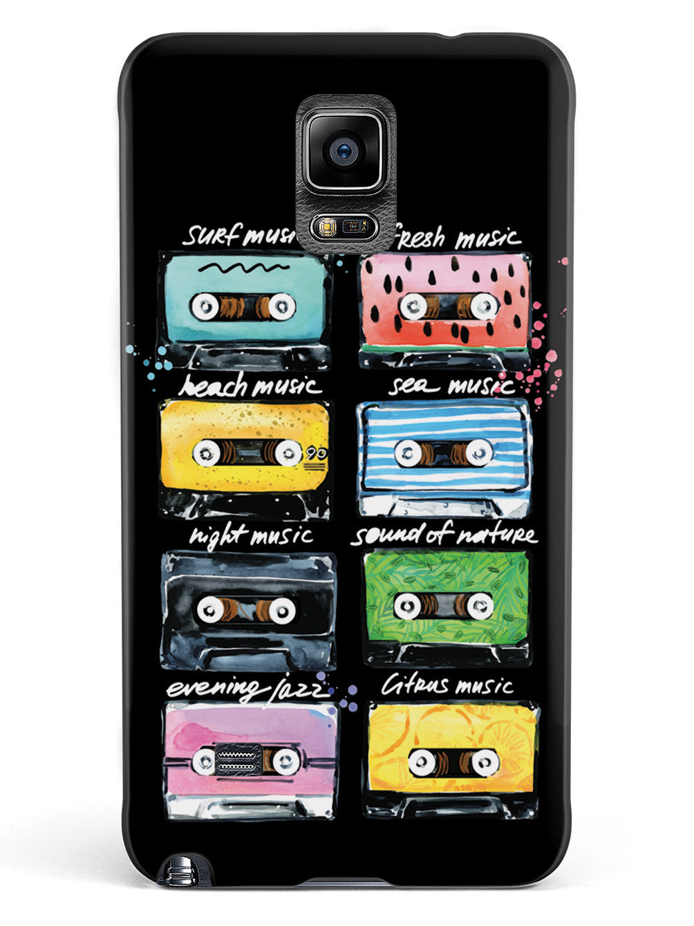 Cassette Tapes - Mood Music - Black Case
