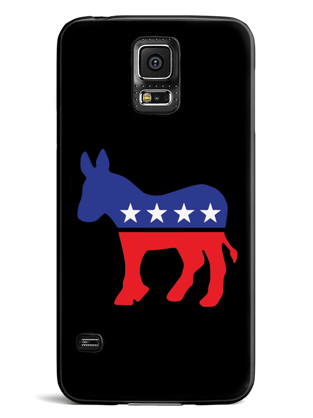 Democrat Donkey Logo - Black Case