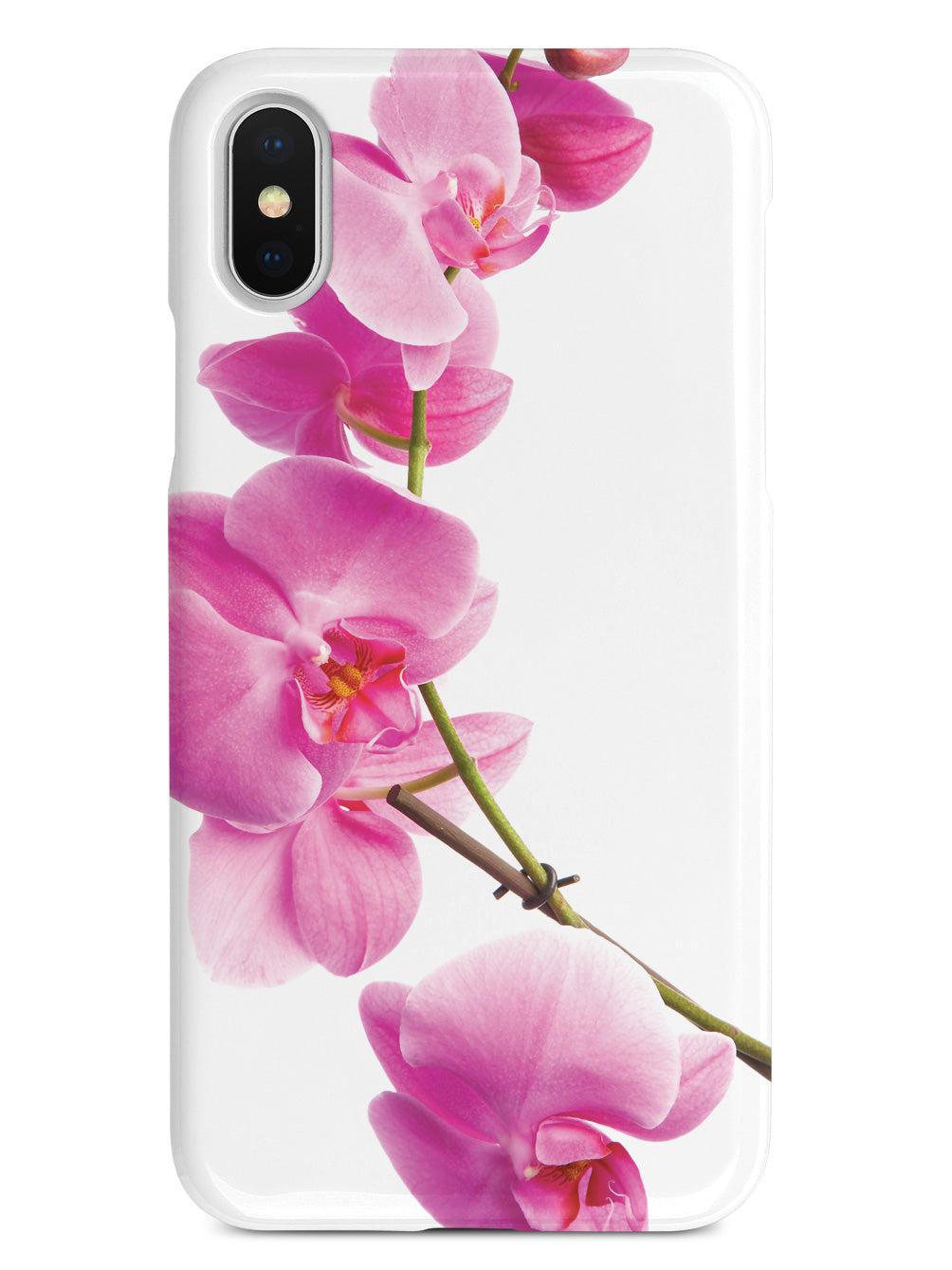 Pink Orchid - White Case