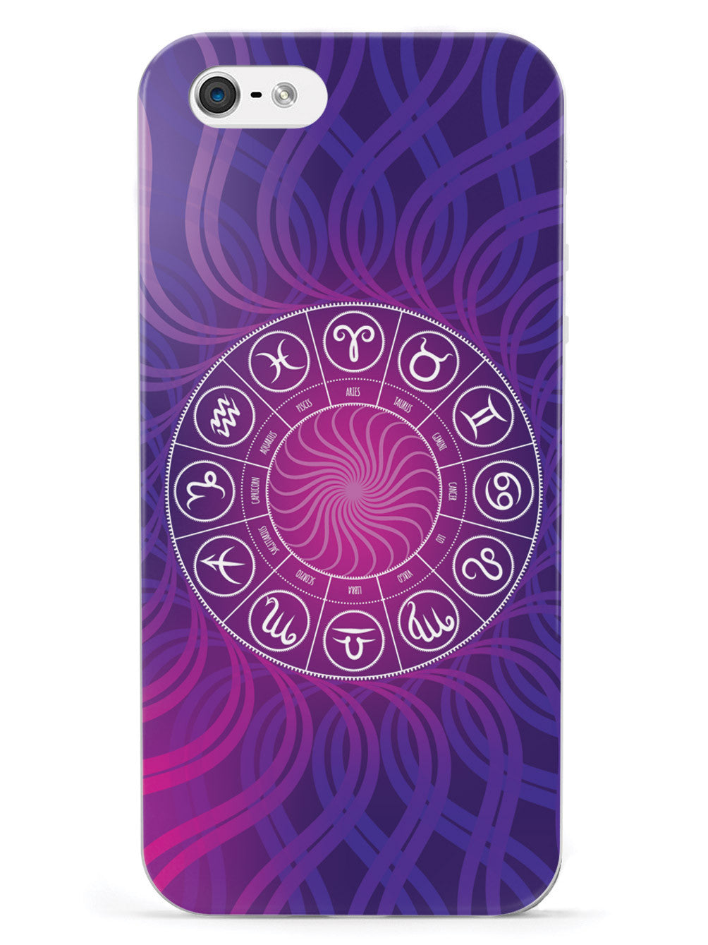 Zodiac Sign Circle - White Case