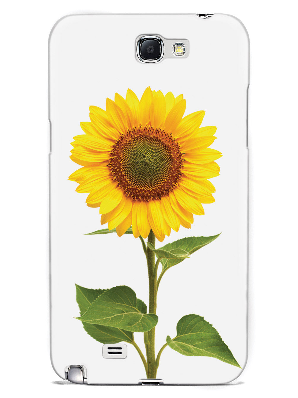 Beautiful Sunflower - White Case