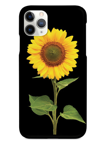 Beautiful Sunflower - Black Case