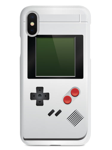 Old School Game Device - White Case