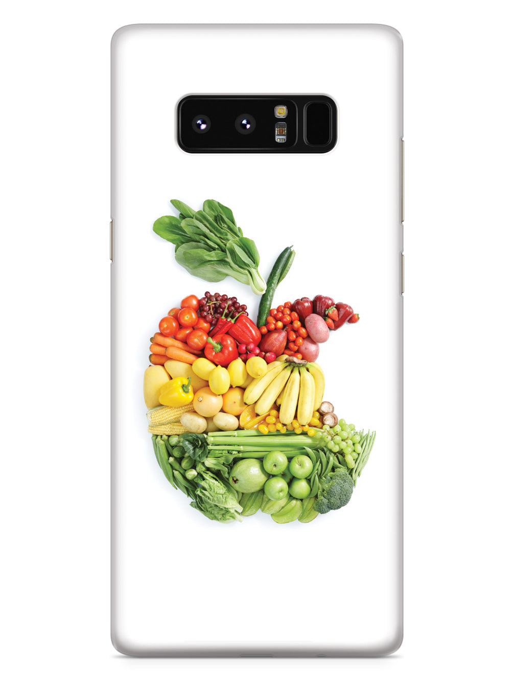 "An ""Apple"" A Day - Fruits and Vegetables - White Case"
