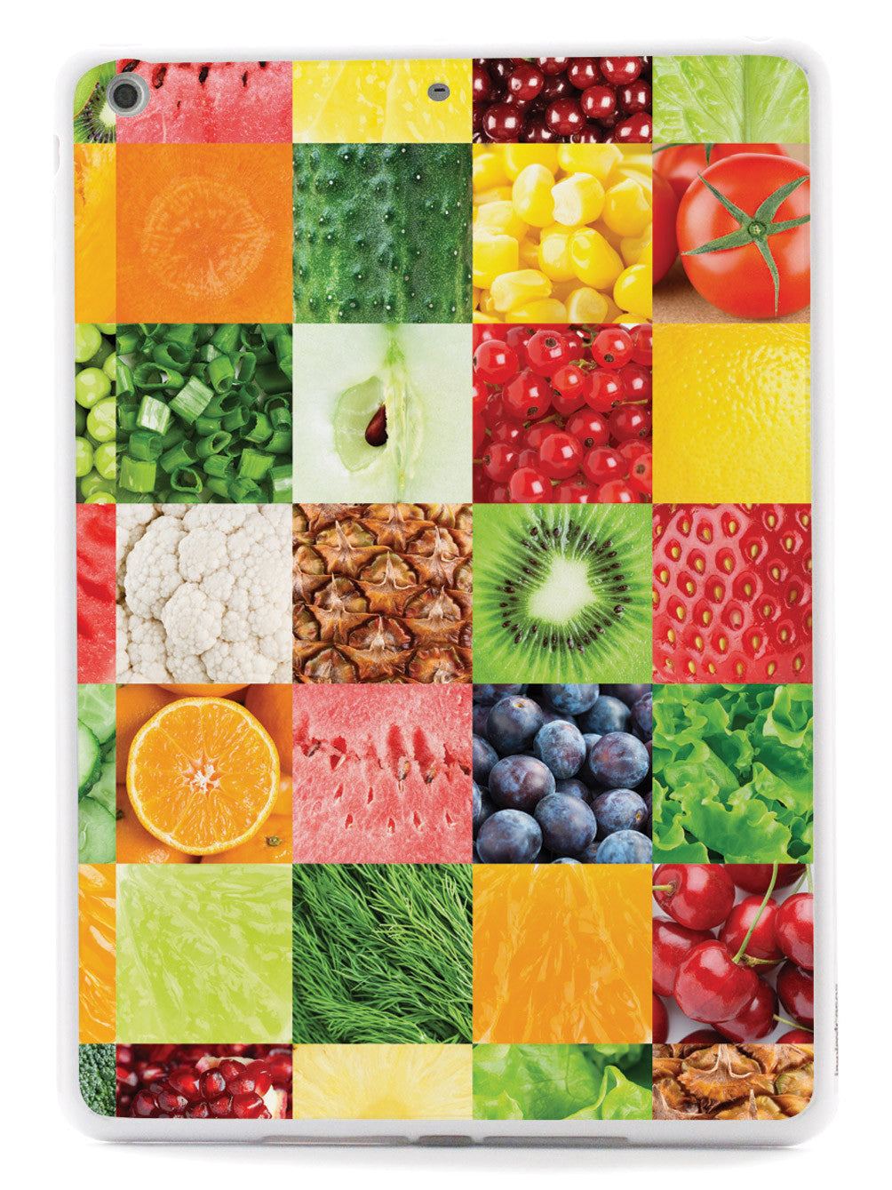 Healthy Foods Quilt Pattern 2 Case