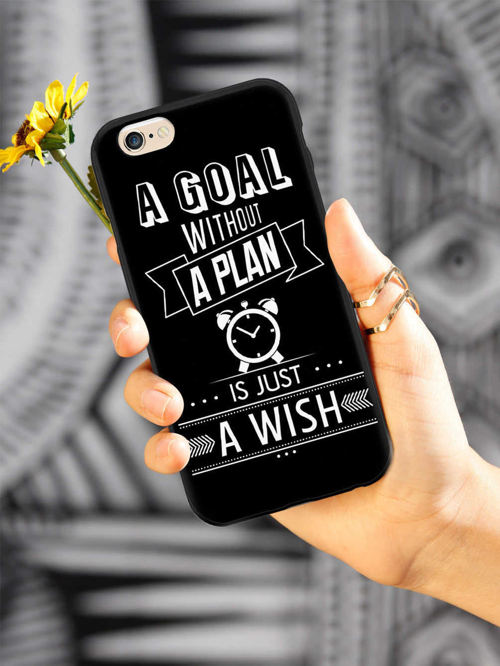 A Goal Without A Plan - Black Case