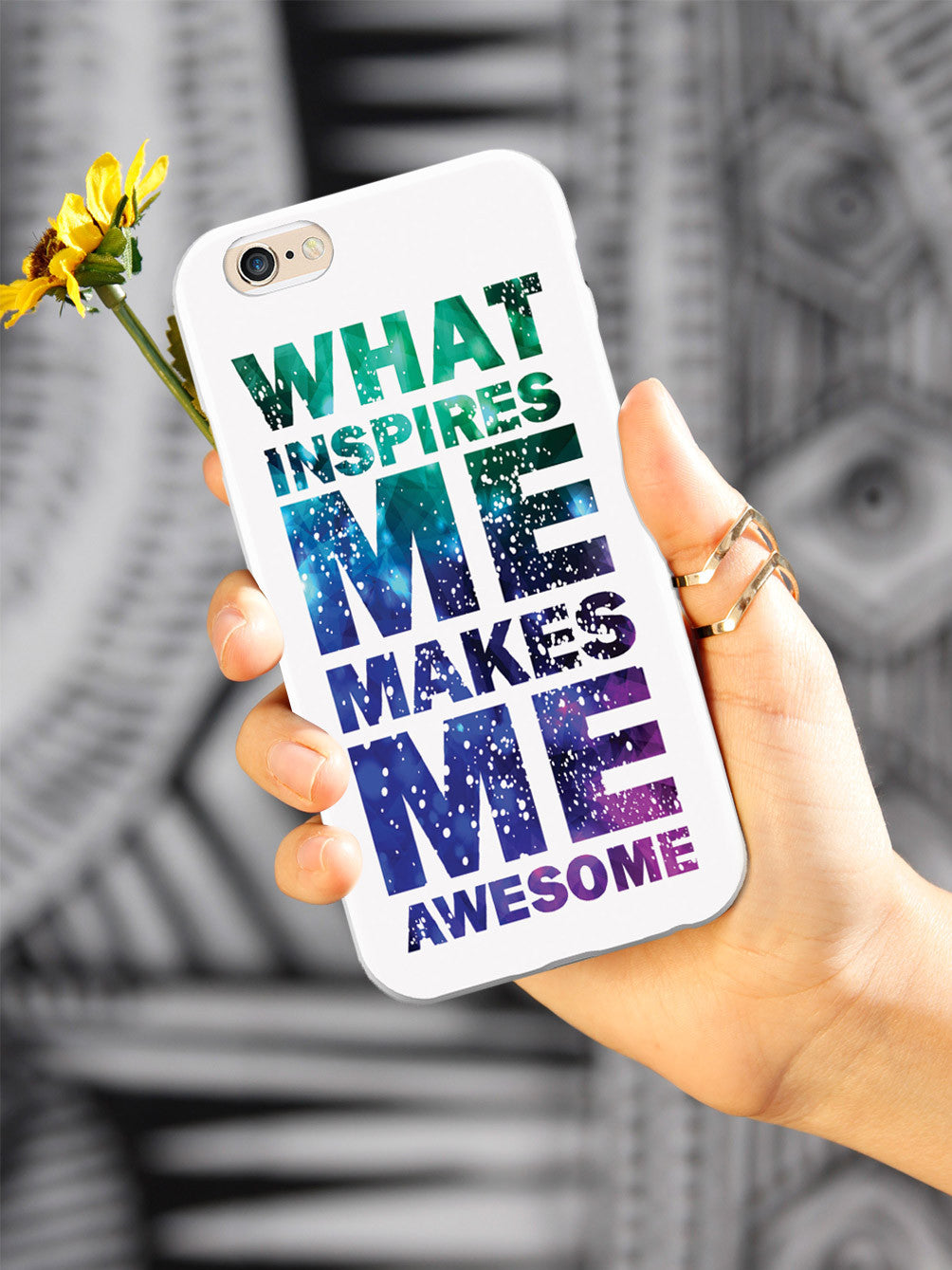 What Inspires Me Makes Me Awesome - White Case