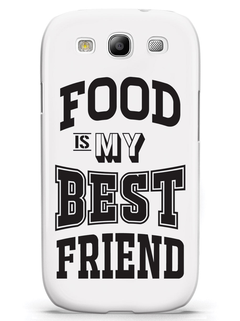 Food is My Best Friend - White Case