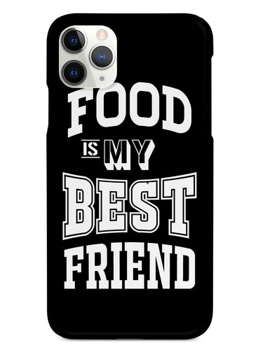 Food is My Best Friend - Black Case
