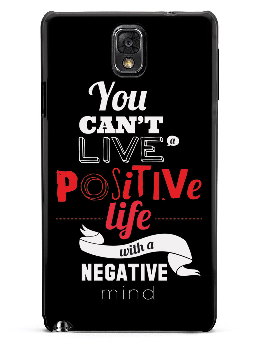 Positive Life, Negative Mind - Black Case