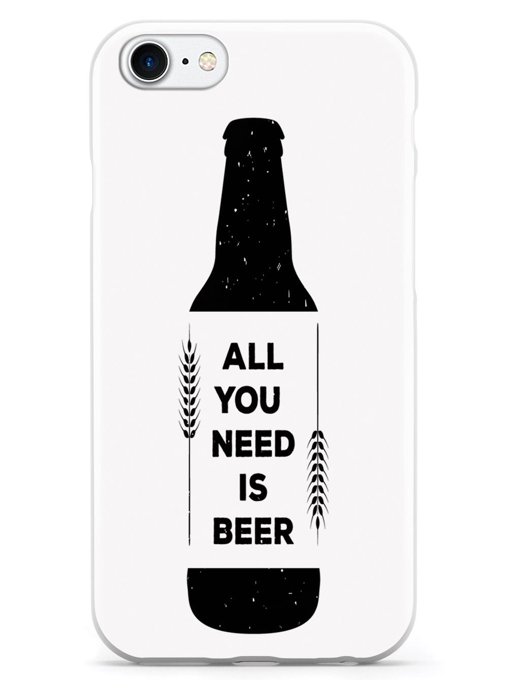 All You Need is Beer - White Case