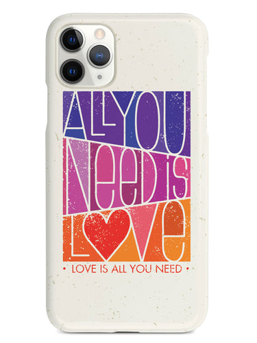 All You Need is LOVE - Block Script - White Case