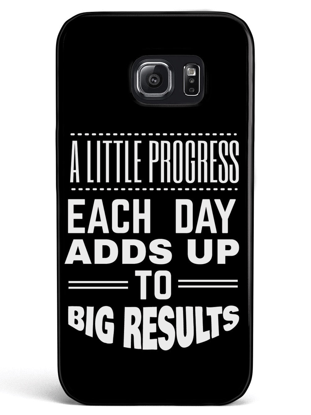 Little Progress, Big Results - Black Case