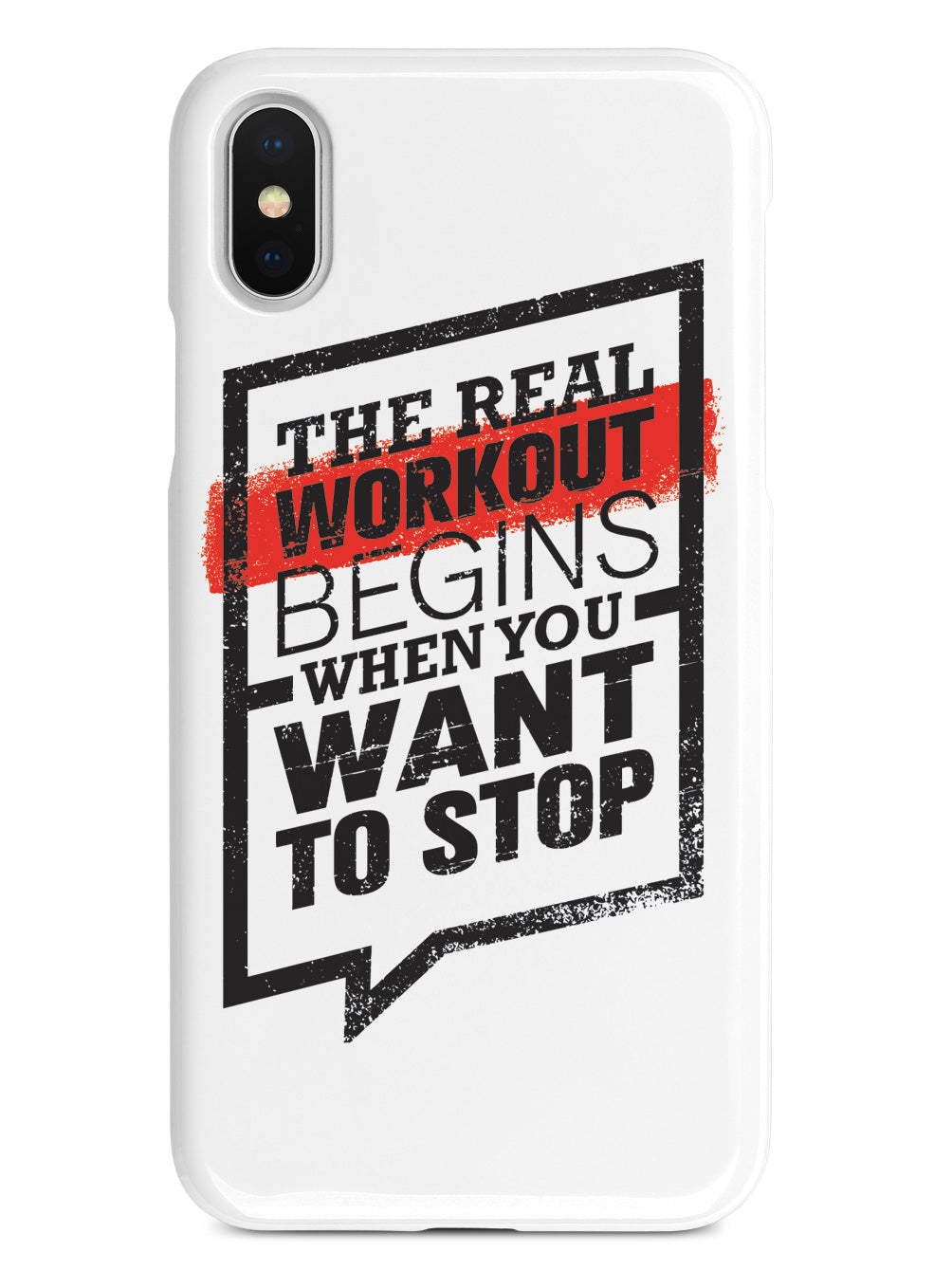 The Real Workout - White Case