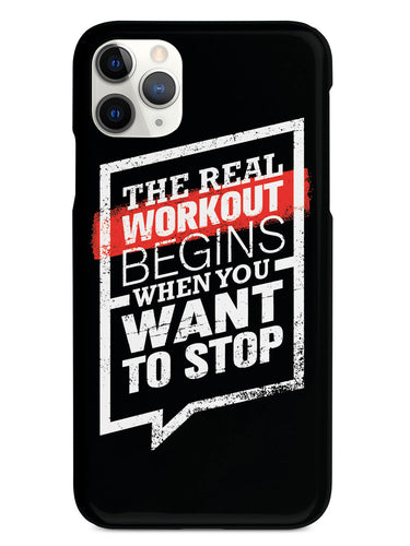 The Real Workout - Black Case