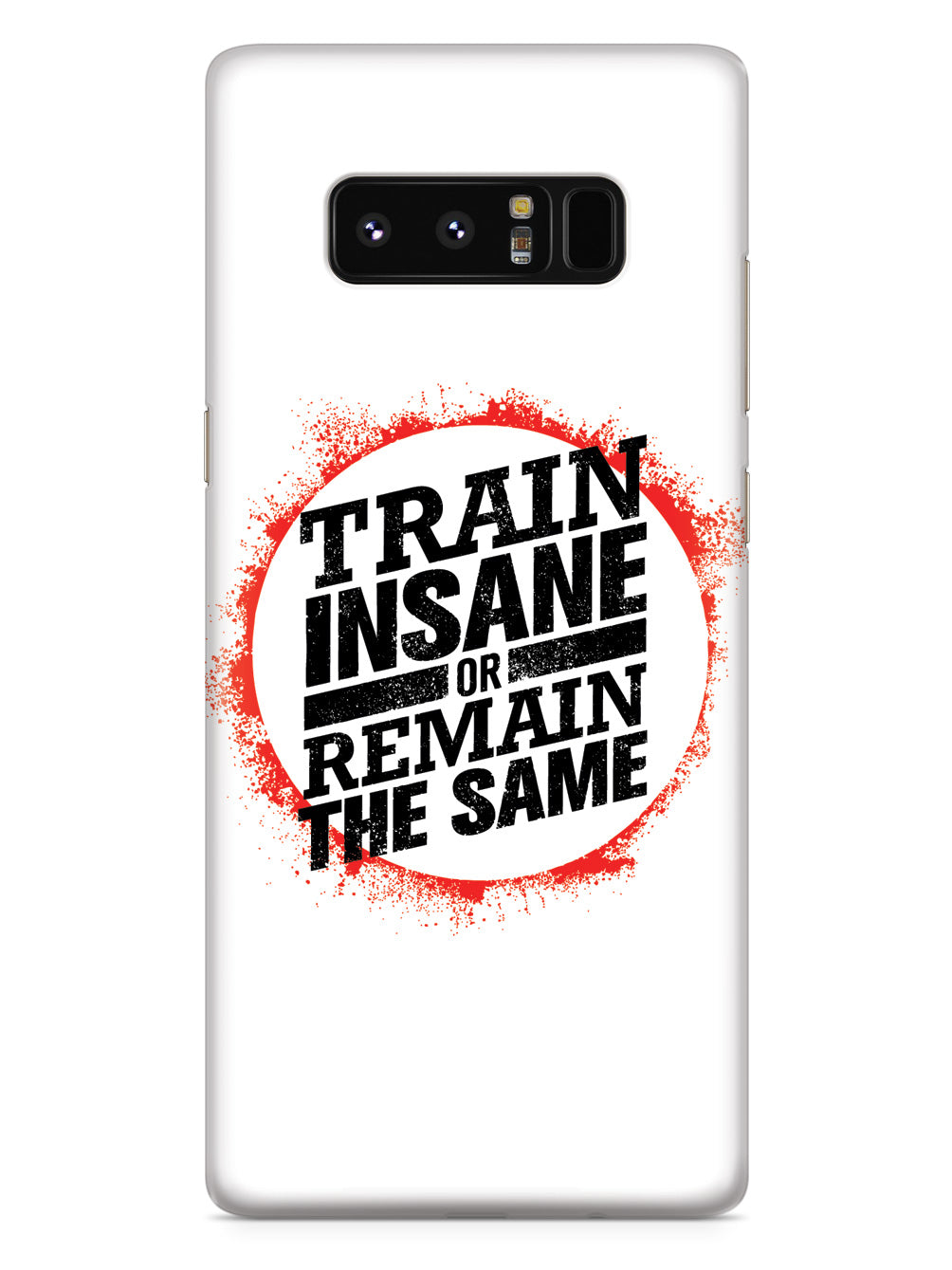 Train Insane or Remain the Same - White Case