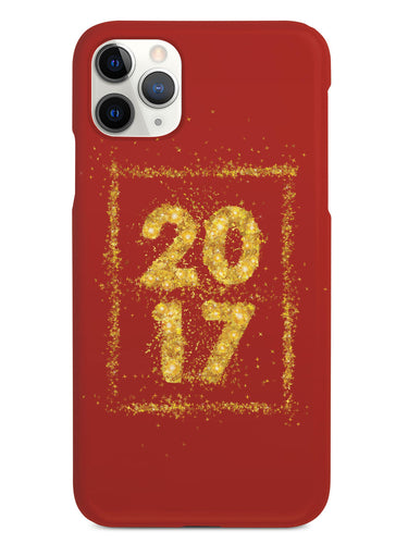 Red and Gold 2017 Case