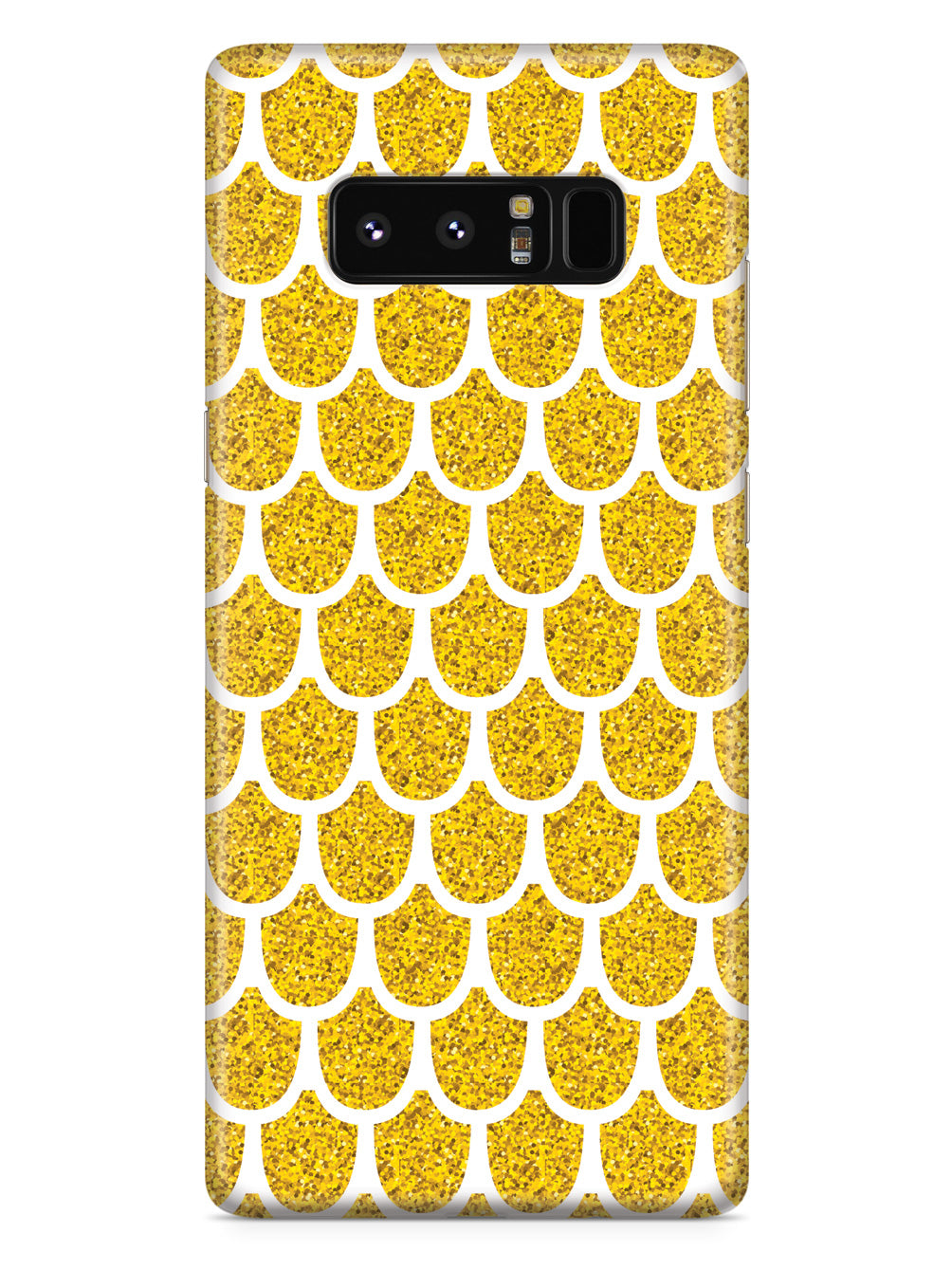 Mermaid Scales - Gold - White Case